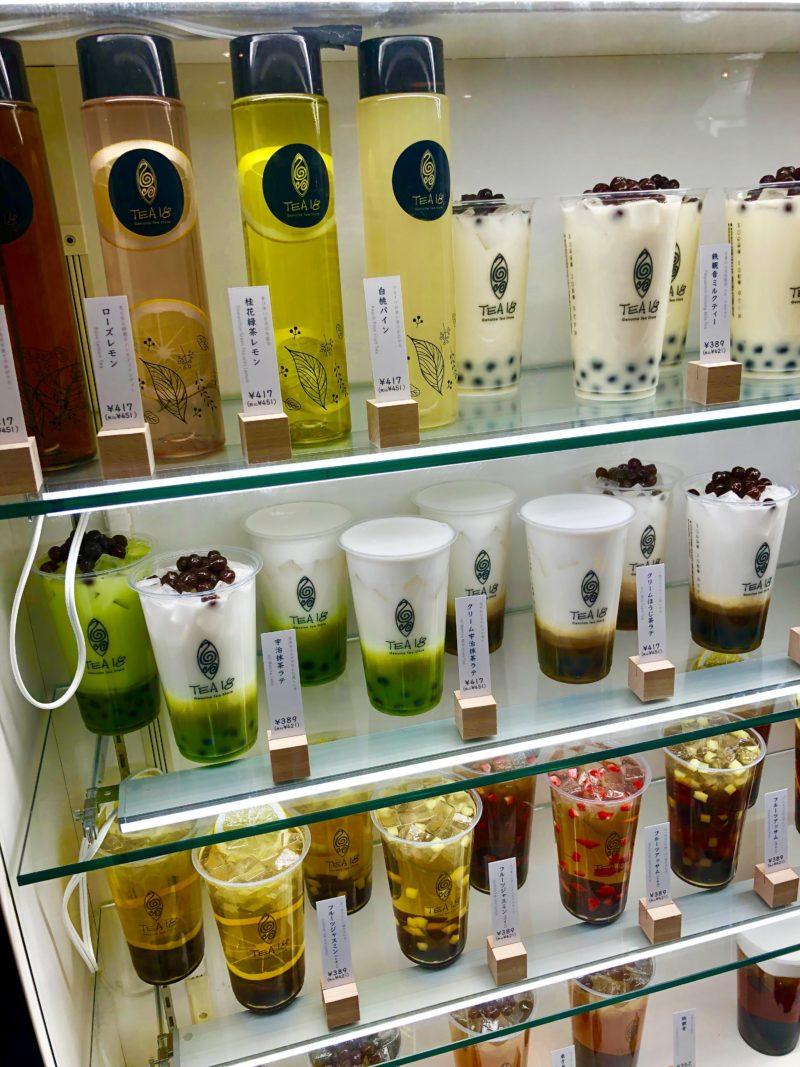 台湾茶とタピオカ専門店「TEA18」